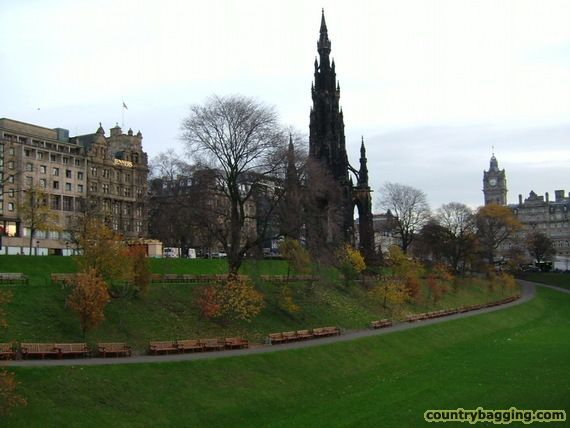Central Edinburgh - www.countrybagging.com