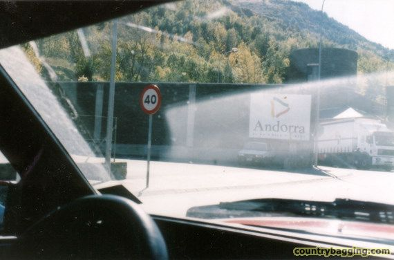 Getting into Andorra - www.countrybagging.com