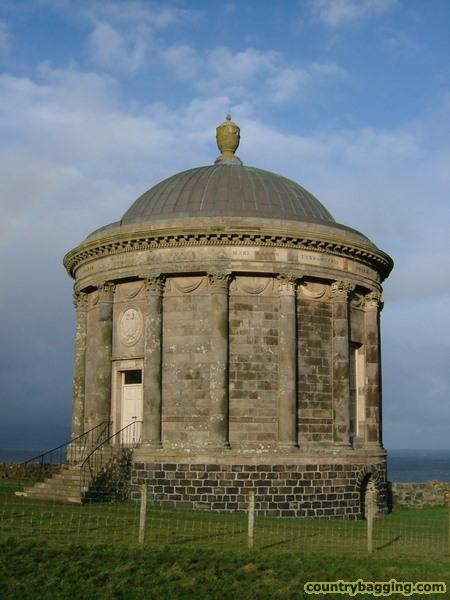 The Mussenden Temple - www.countrybagging.com