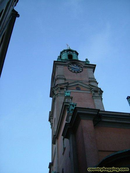 Church on Gamla Stan - www.countrybagging.com