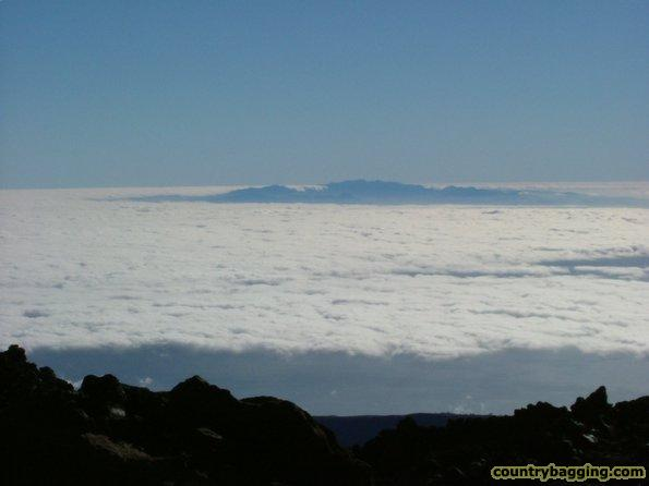 The view from Mt. Teide - www.countrybagging.com