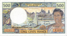 French Polynesian Franc