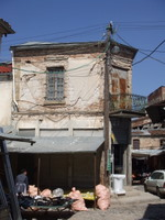 The market in Korca - www.countrybagging.com