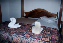 """Swan Towels"" The Toledo Hotel Amman - www.countrybagging.com"