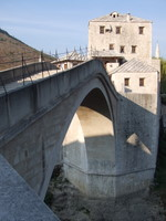 The bridge at Mostar - www.countrybagging.com