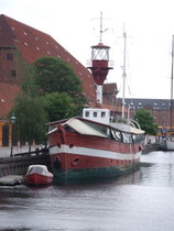 Lightship in Copenhagen - www.countrybagging.com