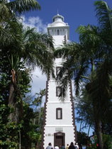 Lighthouse on Tahiti - www.countrybagging.com