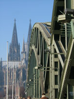Koln Dom and Bridge - www.countrybagging.com