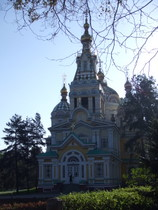 Zenkov Cathedral, Almaty - www.countrybagging.com