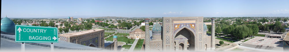 The Registan, Uzbekistan - countrybagging.com