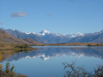 Lake Clearwater, New Zealand