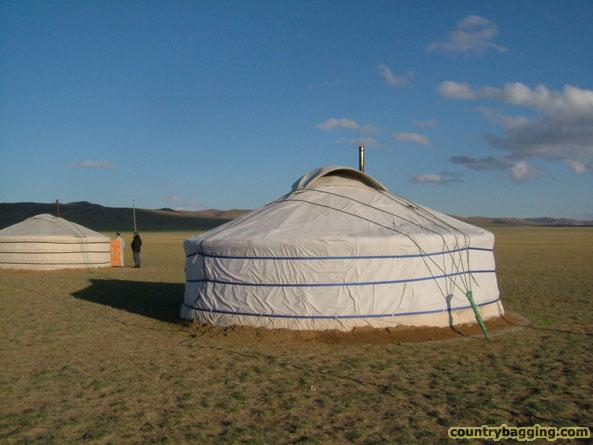 Ger Camp, Mongolia